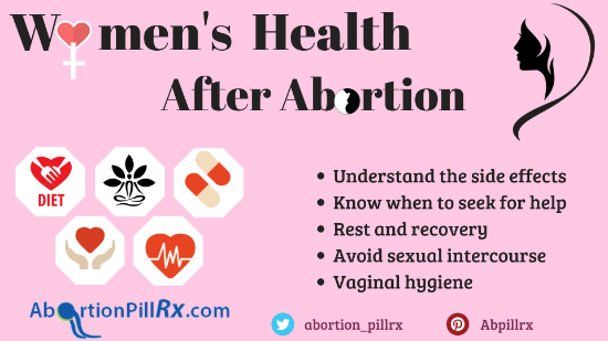 Women's health after abortion