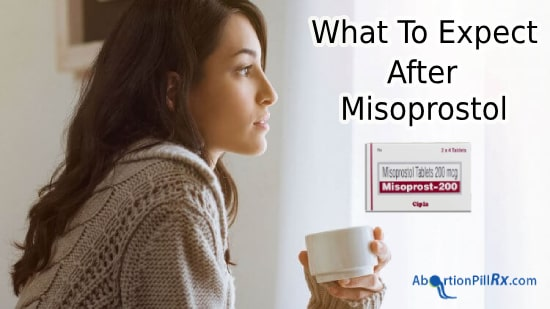 what to expect after Misoprostol